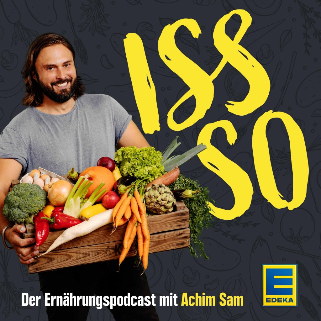 Iss So Podcast sponsored by Edeka